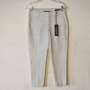 🆕Liverpool gingham straight leg trouser 2/26